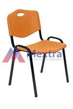 Krzesło konferencyjne ISO Plastic Black