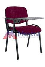 Krzesło konferencyjne ISO Black z pulpitem