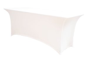 Pokrowiec na stół FLEX PR HIT biały<br />&nbsp;(138 x 90 cm)