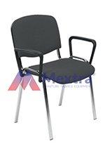 Krzesło konferencyjne ISO Chrome z podłokietnikiem