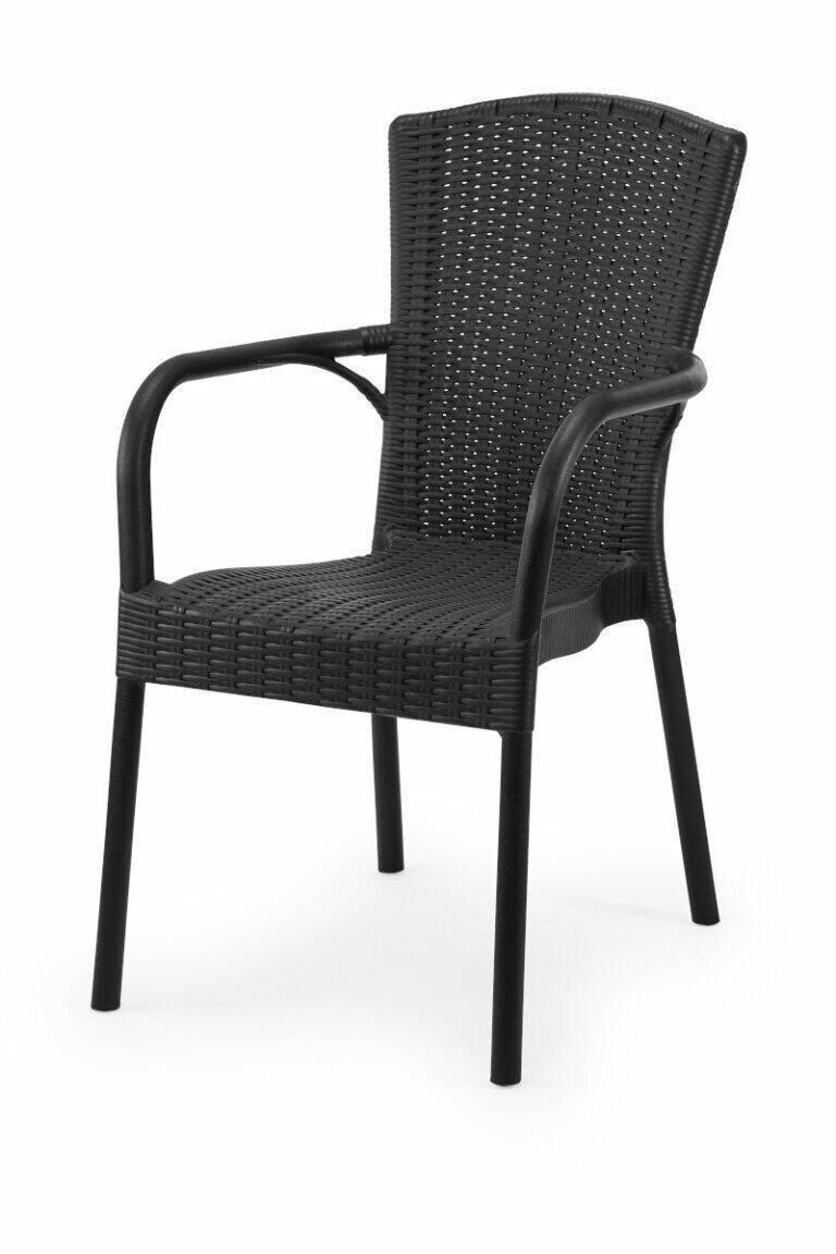 Krzesło do ogródków piwnych ANDREA antracytowe