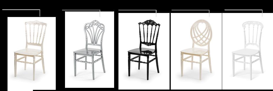 krzesła ślubne