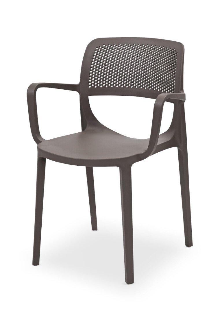 Krzesła do ogródków piwnych NICOLA khaki